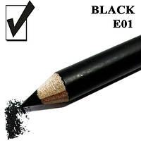 Карандаш для глаз, цвет Black Черный косметический Nabi E05