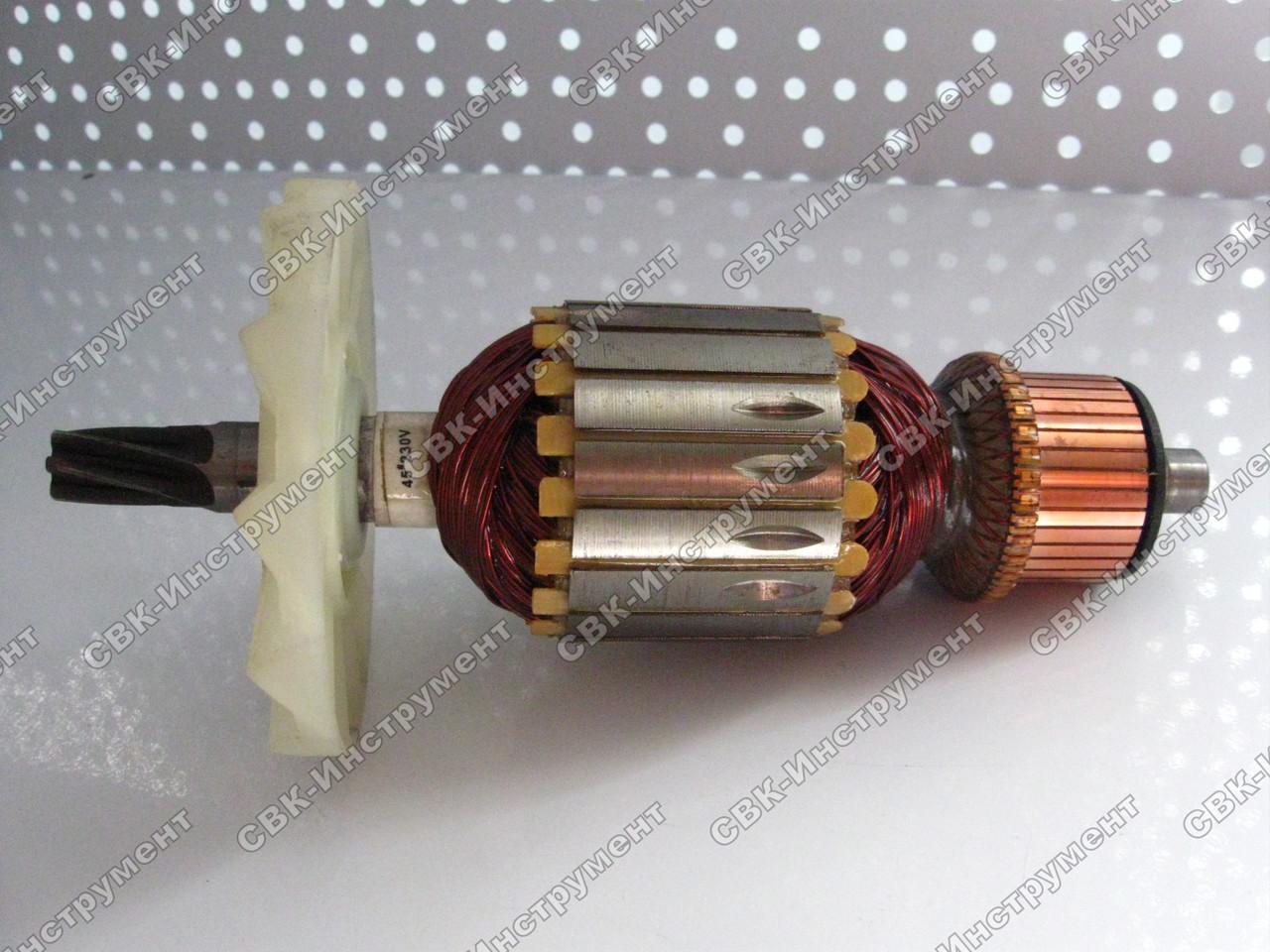 Якорь отбойного молотка Темп МО-2150 оригинал (198х57 6z вправо)