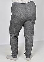 Спортивные брюки женские трикотажные - большие размеры, фото 3