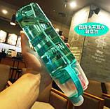 Спортивная бутылка со спреем New B. 600мл розовый, фото 3