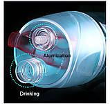 Спортивная бутылка со спреем New B. 600мл розовый, фото 10