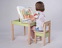 Парта SP9 для дома 3в1 (игровой столик, мольберт, парта) с защитной фотопечатью для школьников ТМ Вальтер