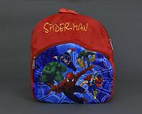 Мягкий рюкзак на молнии Человек Паук Spiderman