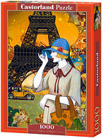 Пазлы Castorland 1000 элементов Парижские улицы, С-103591
