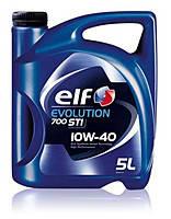 Моторное масло ELF 10W40 EVOLUTION 700 STI ( ACEA A3/B4 , API SL/CF ) 5L полусинтетика