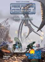 Настольная игра Race for the Galaxy: Xeno Invasion (Борьба за галактику: Вторжение ксеносов) eng.
