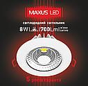 Точечный светодиодный светильник SDL 8W (1-SDL-005), фото 3