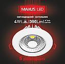 Точечный светодиодный светильник SDL 4W (1-SDL-001), фото 3