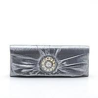 Женский вечерний клатч KJY811773 black (серебро)