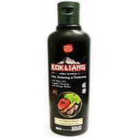 Безсульфатный шампунь для темных волос, лишенных объема и густоты