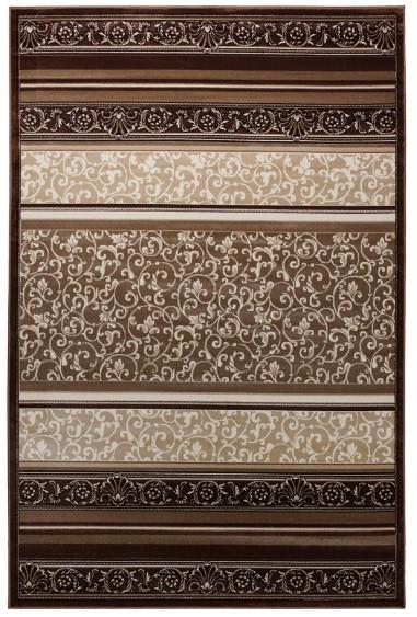 Ковёр Вивальди, цвет коричневый, абстрактный узор