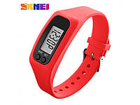 Фитнес браслет с часами Skmei Fitness Red