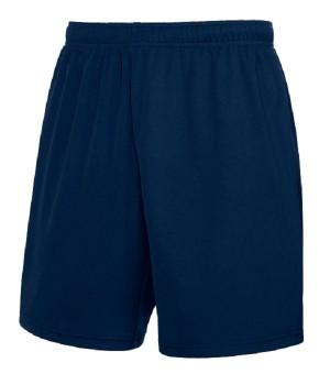 Мужские спортивные шорты темно-синие 042-АZ