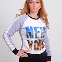 Женский красивый свитшот New York