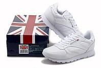 Белые женские кроссовки Reebok (Рибок) - 06W