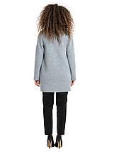 Женское пальто с хомутом 1294, фото 3