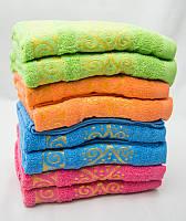 Восточный мотив Лицевые полотенца 50x90 8 шт 100% хлопок
