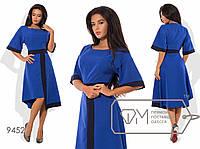 Модное женское платье электрик (4 цвета) VV/-042