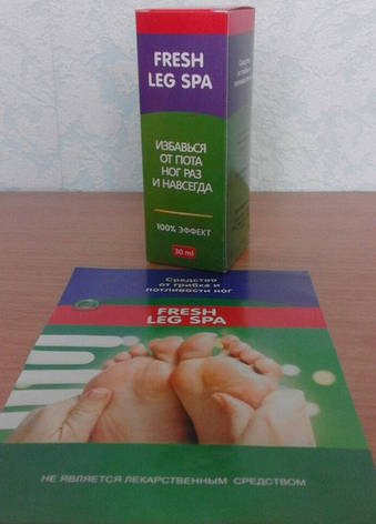 Спрей від грибка і пітливості ніг Fresh Leg Spa (Флеш Ліг Спа), фото 2
