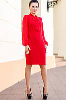 """Красное платье """"Marcel"""" большого размера"""
