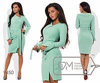 Платье женское мятное (5 цветов) VV/-041
