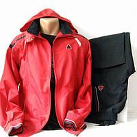 Спортивный прогулочный костюм из плащевой ткани,  Турция, Soccer,  размеры 46, 48, 50, 52, 54, 56.