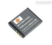 Аккумулятор для фотоаппарата Sony NP-FT1, 1300 mAh.