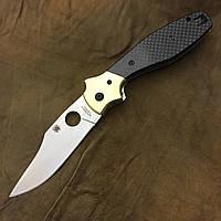 Нож Spyderco Schempp Bowie C190CF  (Реплика, replica)