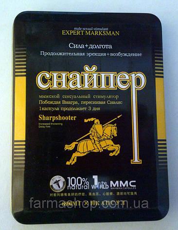 Снайпер - препарат для підвищення потенції, фото 2