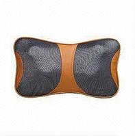 Массажная подушка Massage Pillow For Home And Car Портативный роликовый массажер с инфракрасным подогревом