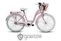 Женский городской велосипед GOETZE Style LTD 28 3 скорости + корзина, фото 1