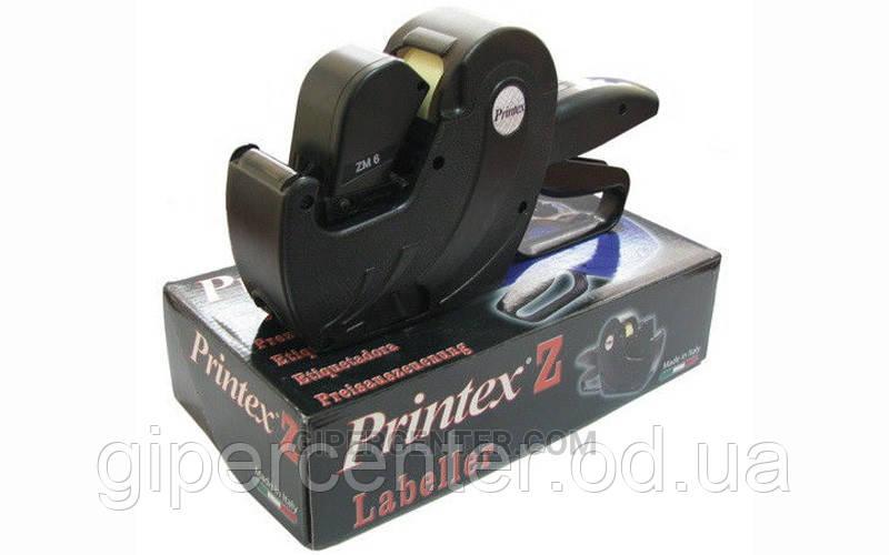 Однострочный этикеточный пистолет Printex Z6 Maxi (6 символов 3х8 мм)