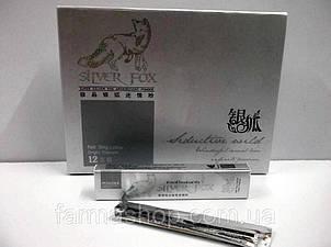 Срібна лисиця - Silver Fox (Сільвер фокс) - збудливий порошок для жінок 12 пакетиків, фото 2