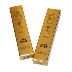 Шпанська мушка Gold Fly, голд флай - афродизіак -пробник 6 пакетиків, фото 3