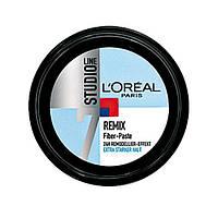 L'Oréal Paris Studio Line 7 REMIX Fiber-Paste - Паста для укладки волос сверхпрочной фиксации, 150 мл