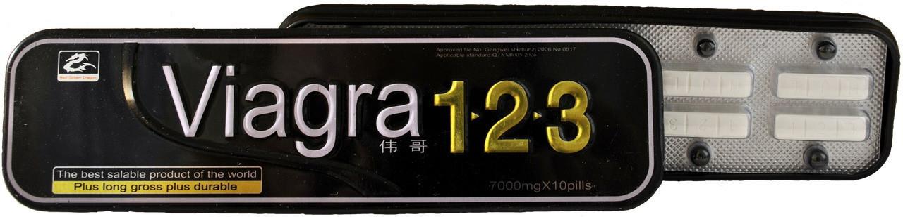 Таблетки 123 - препарат для потенції