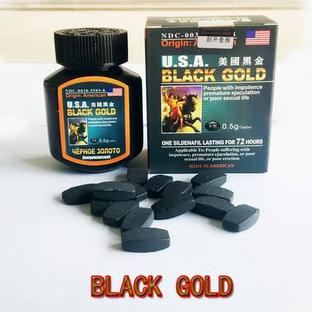 Американське Чорне золото ( USA Black Gold) - препарат для потенції, фото 2