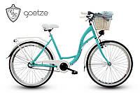 Женский городской велосипед GOETZE BLUEBERRY 26 3 скорости + корзина, фото 1