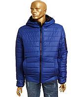 Куртка мужская синяя с капюшоном SAVAGE (48-56р)