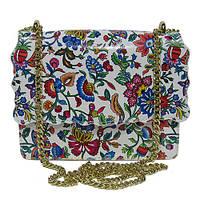 Женская  сумка из натуральной кожи фабричная (отшита  в Италии) цветная, с цепочкой