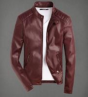 Мужская кожаная куртка. Модель 61123