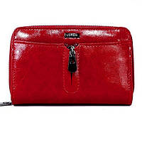 Женский кожаный кошелек Loren 55025-CD Red