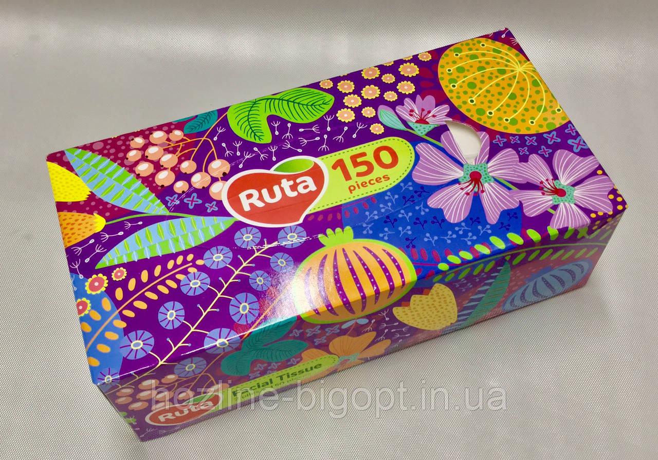 Косметические салфетки RUTA 150 листов