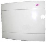 Щит наружный распределительный ECT 8PO (8 модулей белая дверь), 1101005