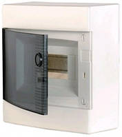 Щит наружный распределительный ECT 8PT (8 модулей прозрачная дверь), 1101000