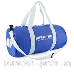My Protein Barrel Bag blue My Protein