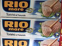 Филе тунца в собственном соку, 80 грамм, Rio mare, Италия
