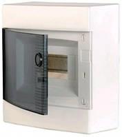 Щит наружный распределительный ECT 12PT (12 модулей прозрачная дверь), 1101001
