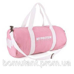 My Protein Barrel Bag pink My Protein