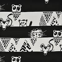 Хлопковая ткань Прятки Peekaboo